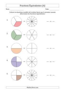Fiches d 39 exercices sur les fractions - Les fractions cm1 exercices a imprimer ...