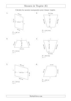 Calcul de la base et l 39 aire des trap zes e fiches d for Calcul classe energetique maison