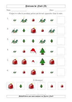 Motifs de Noël avec Deux Particularités (forme & taille) 1ère Partie (A)