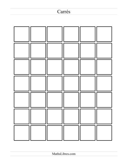 La Figures noir et blanc pour patrons Fiche d'Exercices sur les Patrons
