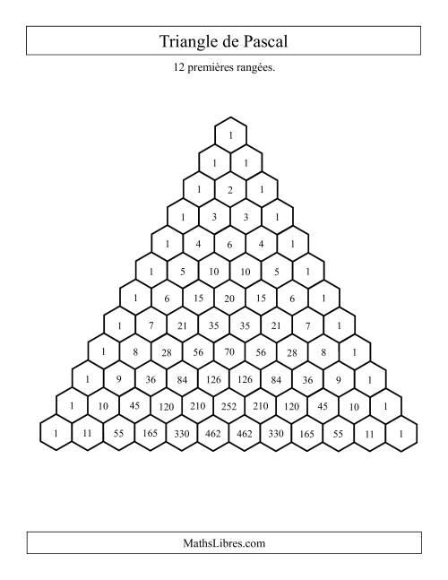 La Triangle de Pascal Fiche d'Exercices sur les Patrons